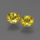 thumb image of 0.9ct Oval Facet Yellow Golden Sapphire (ID: 443807)