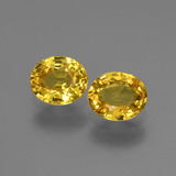 thumb image of 1.6ct Oval Facet Yellow Golden Sapphire (ID: 443824)