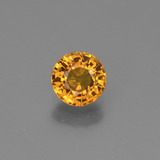 thumb image of 0.8ct Round Facet Yellow Golden Sapphire (ID: 443923)