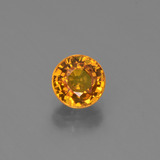 thumb image of 0.9ct Round Facet Yellow Golden Sapphire (ID: 443924)