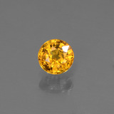 thumb image of 0.6ct Round Facet Yellow Golden Sapphire (ID: 443930)