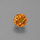 thumb image of 0.8ct Round Facet Yellow Golden Sapphire (ID: 443972)