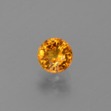 thumb image of 0.7ct Round Facet Yellow Golden Sapphire (ID: 443973)