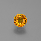thumb image of 0.7ct Round Facet Yellow Golden Sapphire (ID: 443981)