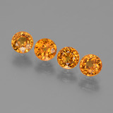 thumb image of 2.9ct Round Facet Yellow Golden Sapphire (ID: 444043)