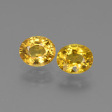 thumb image of 0.8ct Oval Facet Golden Sapphire (ID: 444181)