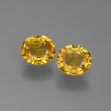 thumb image of 1.4ct Oval Facet Golden Yellow Sapphire (ID: 444252)