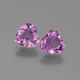 thumb image of 1ct Heart Facet Pink Sapphire (ID: 444305)