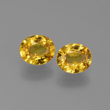 thumb image of 1.3ct Oval Facet Golden Yellow Sapphire (ID: 444326)