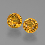 thumb image of 1.4ct Round Facet Golden Yellow Sapphire (ID: 444376)