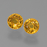 thumb image of 1.4ct Round Facet Yellow Golden Sapphire (ID: 444382)