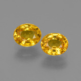 thumb image of 1.9ct Oval Facet Golden Yellow Sapphire (ID: 444635)