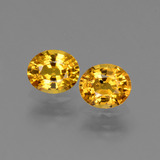 thumb image of 1.6ct Oval Facet Yellow Golden Sapphire (ID: 444637)
