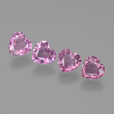thumb image of 2.2ct Heart Facet Pink Sapphire (ID: 444656)