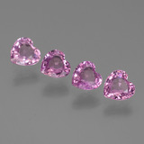 thumb image of 2.3ct Heart Facet Pink Sapphire (ID: 444659)