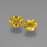 thumb image of 1.4ct Oval Facet Golden Yellow Sapphire (ID: 444679)