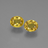 thumb image of 1.5ct Oval Facet Golden Yellow Sapphire (ID: 444681)