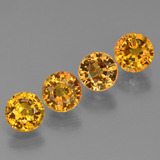 thumb image of 2.7ct Round Facet Golden Yellow Sapphire (ID: 444702)