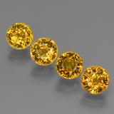 thumb image of 2.6ct Round Facet Golden Yellow Sapphire (ID: 444703)