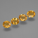 thumb image of 2.7ct Oval Facet Yellow Golden Sapphire (ID: 444786)