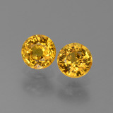 thumb image of 1.3ct Round Facet Yellow Golden Sapphire (ID: 444905)