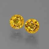 thumb image of 1.3ct Round Facet Yellow Golden Sapphire (ID: 444906)