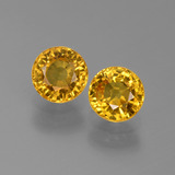 thumb image of 1.4ct Round Facet Yellow Golden Sapphire (ID: 444907)