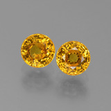 thumb image of 1.5ct Round Facet Yellow Golden Sapphire (ID: 444908)