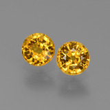thumb image of 0.6ct Round Facet Yellow Golden Sapphire (ID: 444909)