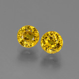 thumb image of 1.8ct Round Facet Yellow Golden Sapphire (ID: 445180)
