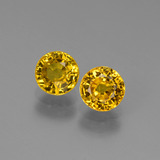 thumb image of 1.5ct Round Facet Yellow Golden Sapphire (ID: 445182)