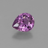 thumb image of 1.1ct Pear Facet Pinkish Violet Sapphire (ID: 447702)