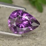thumb image of 1.1ct Pear Facet Purple Sapphire (ID: 447719)