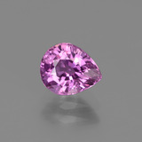 thumb image of 1.1ct Pear Facet Pinkish Violet Sapphire (ID: 447767)