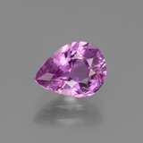 thumb image of 1.3ct Pear Facet Pinkish Purple Sapphire (ID: 447771)