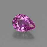 thumb image of 1.2ct Pear Facet Purple Pink Sapphire (ID: 447795)