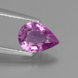 thumb image of 1.2ct Pear Facet Purple Pink Sapphire (ID: 447798)