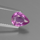 thumb image of 1.3ct Pear Facet Pinkish Violet Sapphire (ID: 447816)