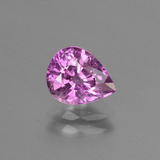 thumb image of 1.4ct Pear Facet Pinkish Violet Sapphire (ID: 447817)