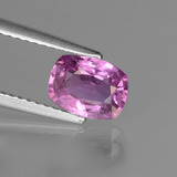 thumb image of 1.4ct Cushion-Cut Pinkish Violet Sapphire (ID: 447819)