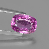thumb image of 1.5ct Corte en Forma Cojín Medium Purple Zafiro (ID: 447842)