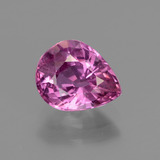 thumb image of 1.9ct Pear Facet Pinkish Violet Sapphire (ID: 447846)