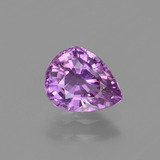 thumb image of 1.4ct Pear Facet Pinkish Violet Sapphire (ID: 447864)