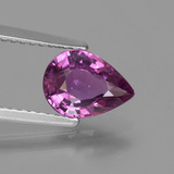 thumb image of 1.4ct Pear Facet Purple Pink Sapphire (ID: 448499)