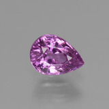thumb image of 1.1ct Pear Facet Pinkish Purple Sapphire (ID: 448553)
