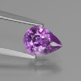 thumb image of 1ct Pear Facet Pinkish Purple Sapphire (ID: 448556)