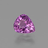 thumb image of 1.2ct Pear Facet Pinkish Purple Sapphire (ID: 448562)