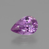 thumb image of 1.1ct Pear Facet Pinkish Violet Sapphire (ID: 448563)