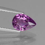 thumb image of 1.1ct Pear Facet Pinkish Purple Sapphire (ID: 448564)