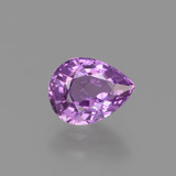 thumb image of 1.3ct Pear Facet Pinkish Purple Sapphire (ID: 448585)